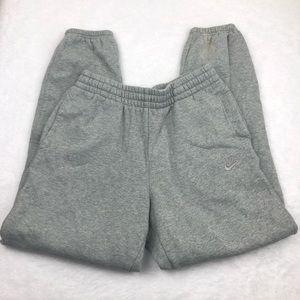 Nike Men's gray jogger sweatpants, M